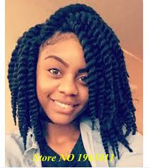 hairstyles with xpression braids 12inch havana mambo twist crochet braids xpression blue synthetic