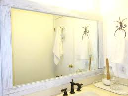 framing bathroom wall mirror overwhelming bathroom wall mirrors framing mirror ideas oversized