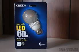 cree u0027s 13 led light bulb is the best yet looks and feels