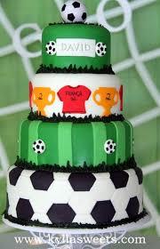 soccer cake soccer cake bolo futebol fernanda lopes flickr