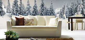 living room mural room color ideas
