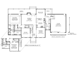 Floor Plans Two Story by House Plans With Two Masters