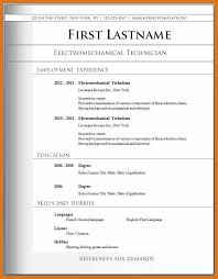 basic resume format examples resume examples simple how to write