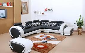canap cuir noir et blanc canapé d angle cuir xenon canapé en cuir noir et blanc 5 places
