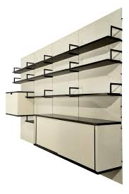 mid century japanese series modular wall unit by cees braakman for
