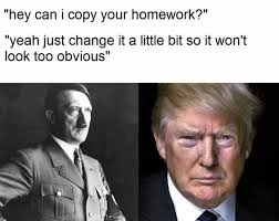 Homework Meme - dopl3r com memes can i copy your homework yes donald trump