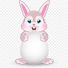 rabbit material easter bunny rabbit easter egg bunny bunny vector material png
