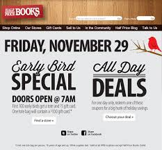 half gift cards black friday free tote bag gift card at half price books