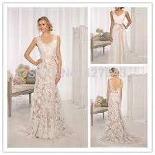 wedding dress overlay 2015 vintage lace overlay low back wedding dress slim fit