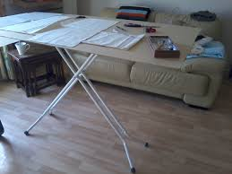 dressmaking and sewing projects cutting table