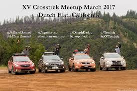 subaru crosstrek off road xv crosstrek meetup march 2017 dutch flat ca promotional image
