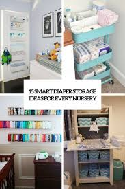 Changing Table Organizer Ideas 15 Smart Storage Ideas For Every Nursery Shelterness