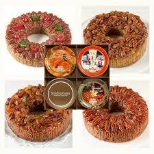 fruit by mail buy online or mail order pecan cake four pack fruitcake sler
