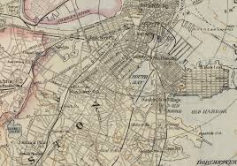 Boston Map by File 1892 Southboston Boston Map Bydamrell And Upham Bpl 10736