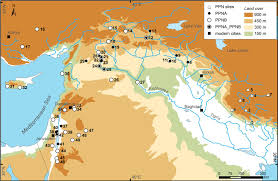 fertile crescent farming started in several places at once