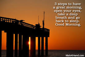 3 steps to a great morning message