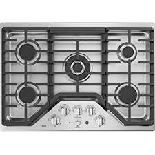 30 Inch 5 Burner Gas Cooktop Amazon Com Ge Cafe Cgp9530slss 30 Inch Natural Gas Sealed Burner