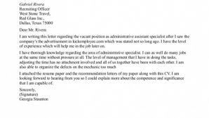 sample cover letter for administrative job volunteer services