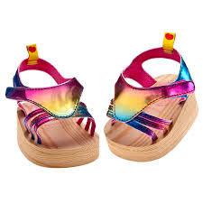 rainbow wedge sandals build a bear workshop us ella u0027s wish