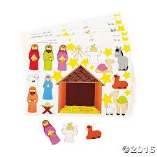 amazon com 2 dozen 24 make a nativity scene sticker sheets