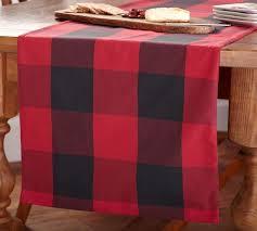 buffalo plaid table runner buffalo check table runner pottery barn buffalo plaid tablecloth