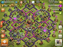 image clash of clans xbow i need a th10 farming hybrid and trophy working base that
