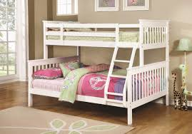 White Bunk Bed Frame Chapman 460260 Twin Over Full Bunk Bed In White By Coaster