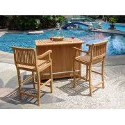 Outside Patio Bar by Patio Bar Sets
