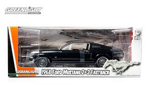1968 Mustang Fastback Black Greenlight Announces Two New 1968 Ford Mustang Fastback Decos