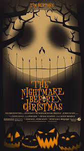 the nightmare before christmas 1993 creative movie posters