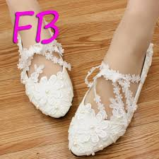 Wedding Shoes Jakarta Murah Compare Prices On White Wedding Shoes Lace Pearl Online Shopping