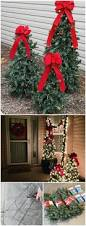 Christmas Ornaments Outdoor Tree by 20 Impossibly Creative Diy Outdoor Christmas Decorations Diy