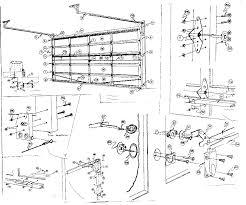 Overhead Door Corporation Parts Sears Sears Wood Garage Door Parts Model 234667160 Pole Barn