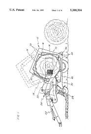 patent us5388504 twine wrap control for round baler google patents