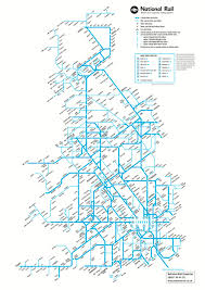 San Francisco Transportation Map by National Rail Map Of All Stations On The Network England Not