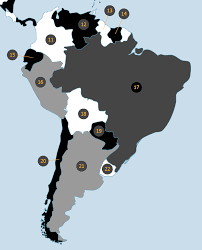 Map Of South America With Capitals Memorize All Countries And Capitals With Memory Techniques