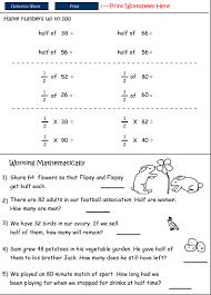 halve numbers up to 100 mathematics skills online interactive