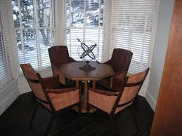 Leather Game Table Chairs Artwest Custom Leather Copper Wood And Steel Designs To Fit Any