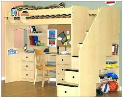 Diy Loft Bed With Desk Loft Bed Plans Loft Bed Size Bunk Bed Plans