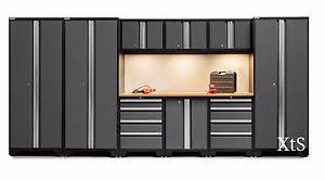 Xtreme Garage Cabinets Metal Garage Cabinet Set Storage Shelves Cupboards Work Shop Tool