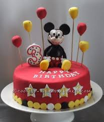 150 coolest homemade mickey mouse cakes for birthday girls and boys