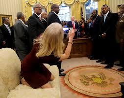 conway explains feet on oval office couch u0027i certainly meant no