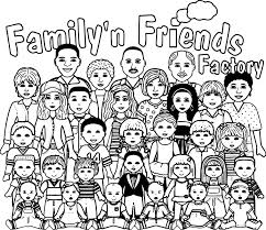 people graphics family friends factory teen girls edition coloring