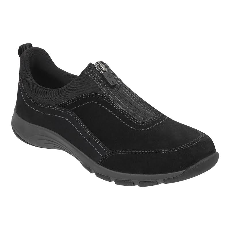 Easy Spirit Cave Walking Shoes Black- Womens