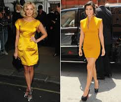 fashion trend watch little yellow dresses look
