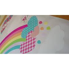rainbow hot air balloon and raindrop wall stickers hot air balloons and raindrops nursery wall stickers previous next