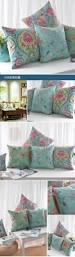 neoclassical retro style decorative pillow covers rustic bird