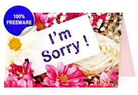 freeware sorry cards greetings maker for mac to design printable