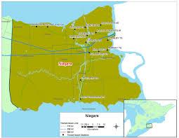 Niagara Falls Canada Map by Map Niagara Jpg