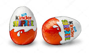 egg kinder kinder a chocolate egg stock editorial photo